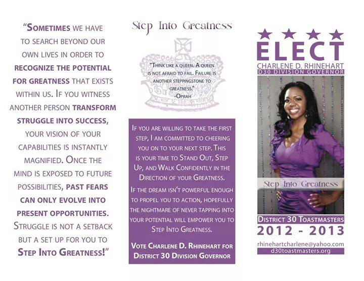 toastmasters-campaign-for-division-governor